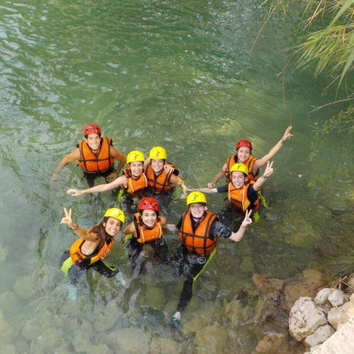 Grupos Rafting - Contracorriente Aventuras